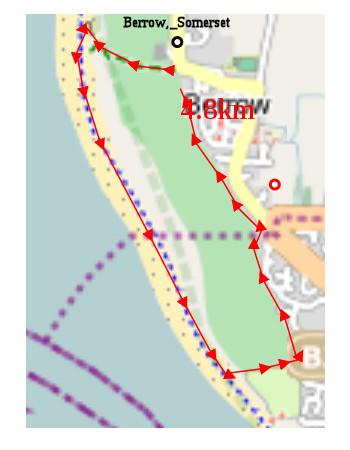 Berrow beach walk